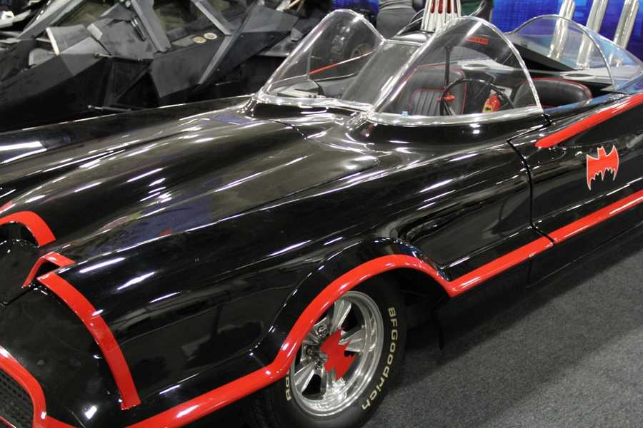Three different Batmobiles from the small and silver screen are on display this weekend at the World of Wheels Car Show.