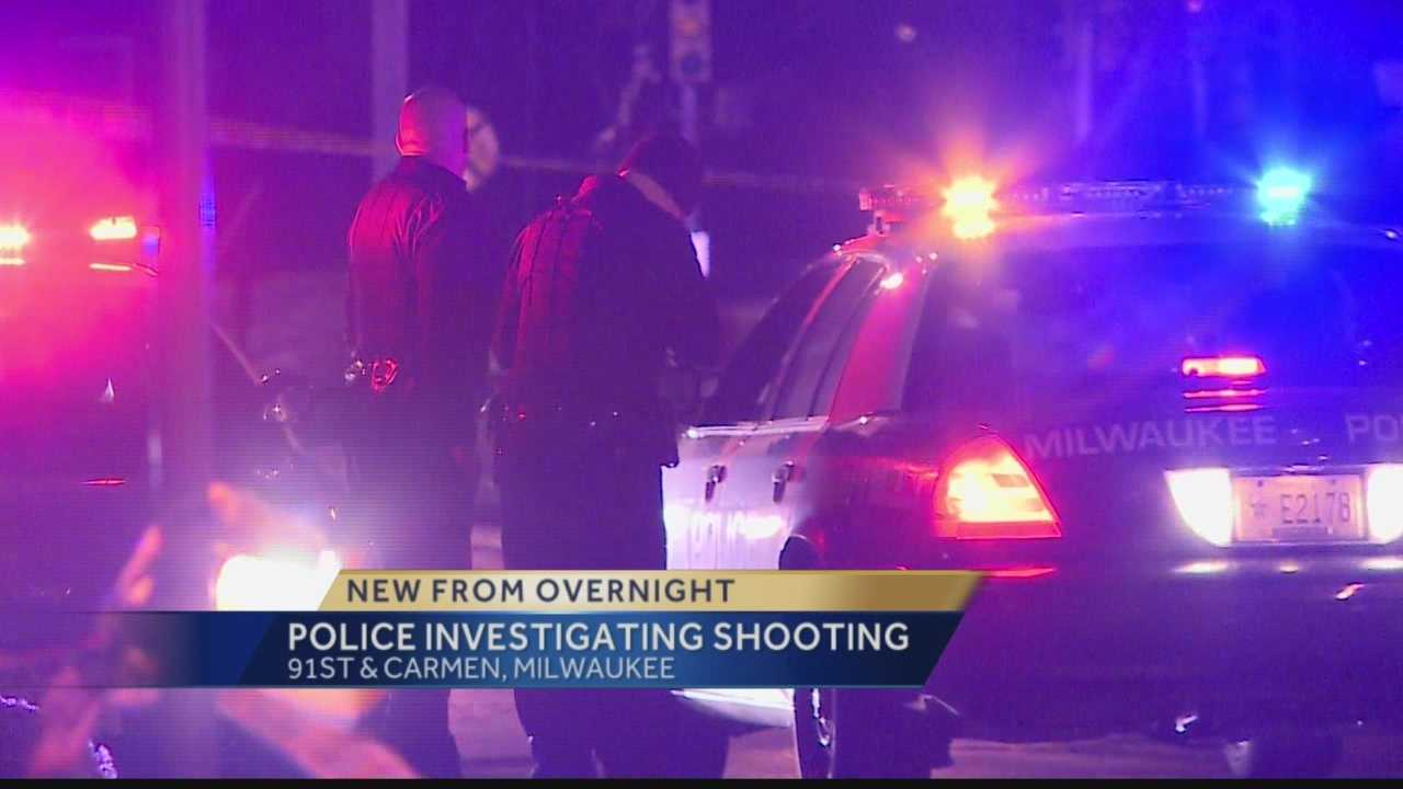 A Milwaukee man is expected to survive after being shot as many as seven times near 91st and Carmen