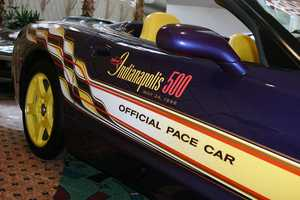 1998 Corvette Pace Car- Prize money won for winning that year $1,433,000.