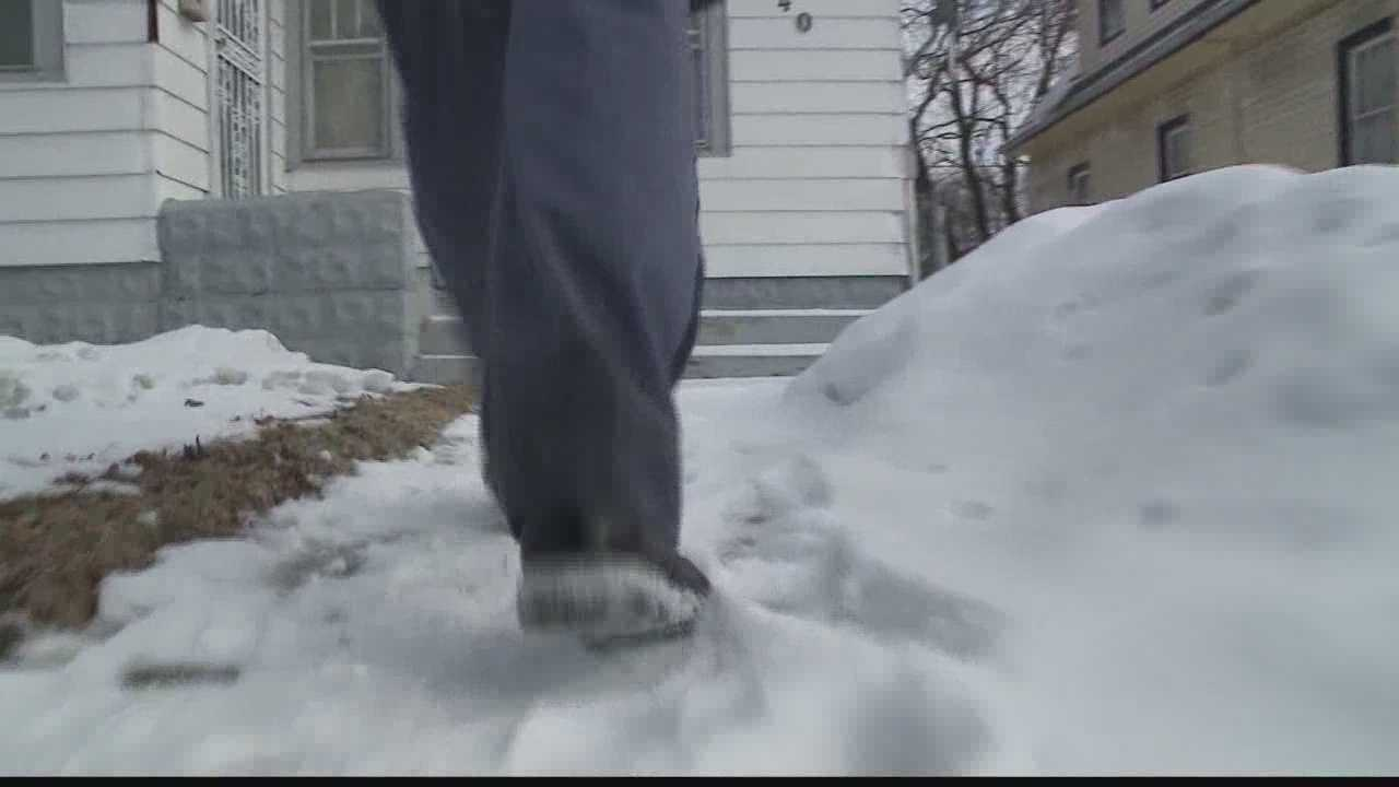 The U.S. Postal Service says letter carrier injuries are up this winter because of the snow and ice.