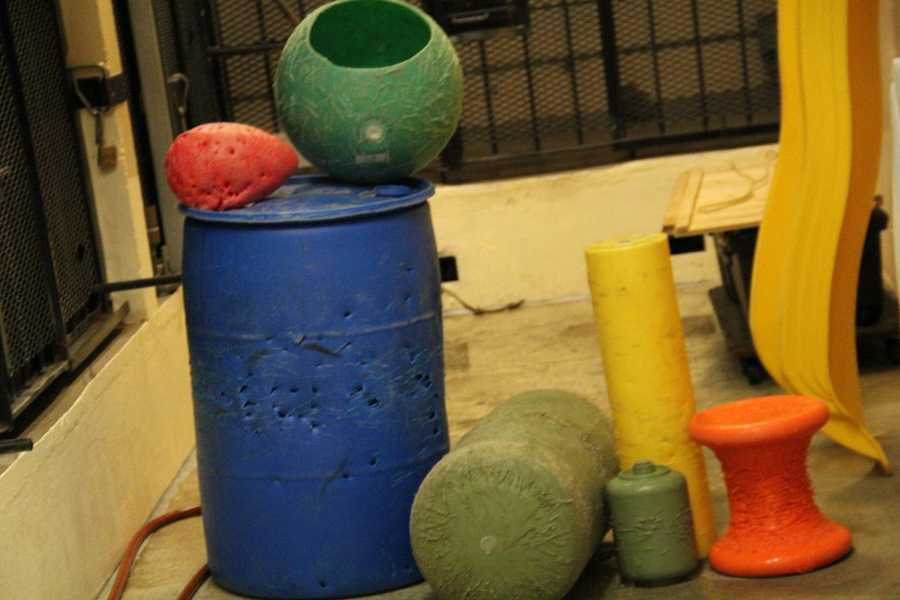 Some or the items used for enrichment are also stored back here.
