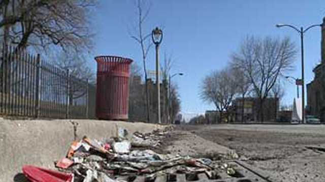 Melting snow uncovers more trash than usual in Milwaukee