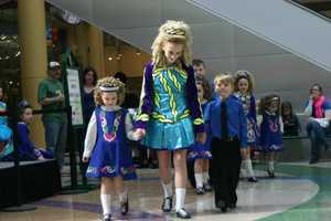 Shoppers and visitors were treated to dancing at center court.