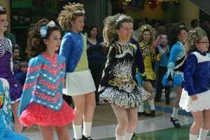 The dancing was courtesy of Cashel Dennehy School of Irish Dance.