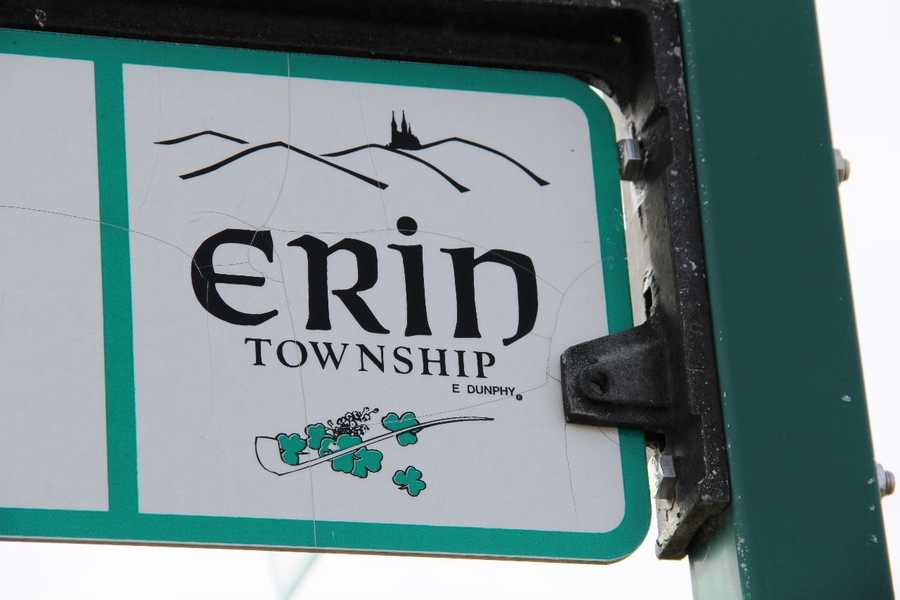 The Town of Erin is 36 square miles in size.