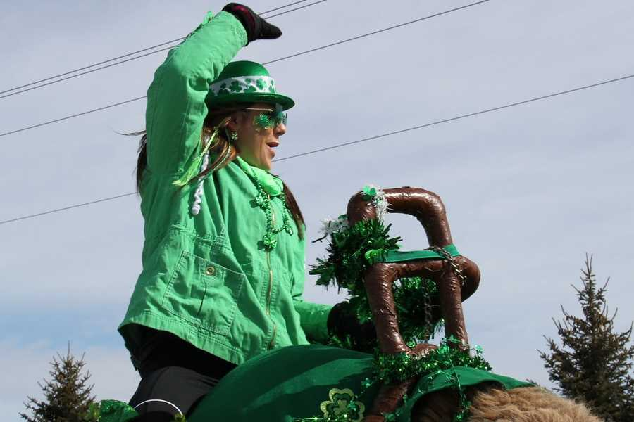 Click here to see video from the parade.