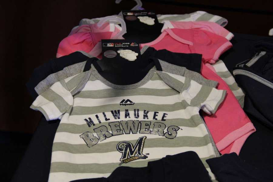 The Team Store has an expanded children's selection.