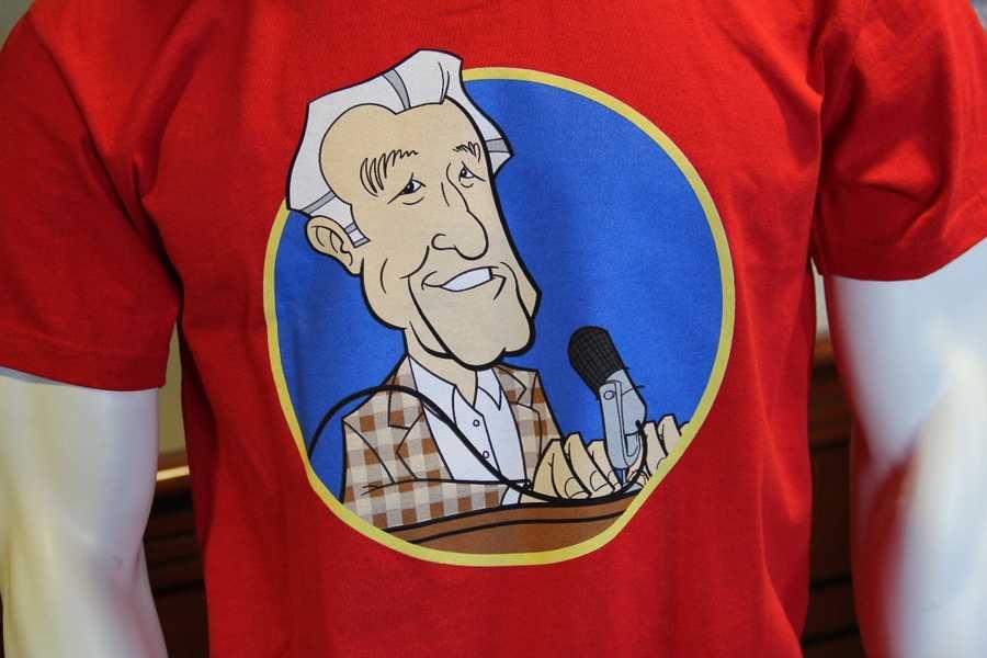 New Uecker shirt.