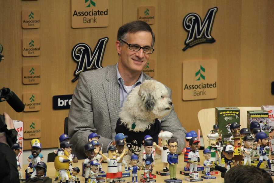 """A portion of the proceeds from tickets sales for that game will be donated by the Brewers to the Wisconsin Humane Society's """"Hank Fund."""""""
