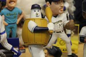 There have been other mascot bobbles in the past, but never an animal.