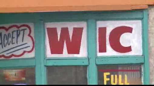 grocery sign - WIC
