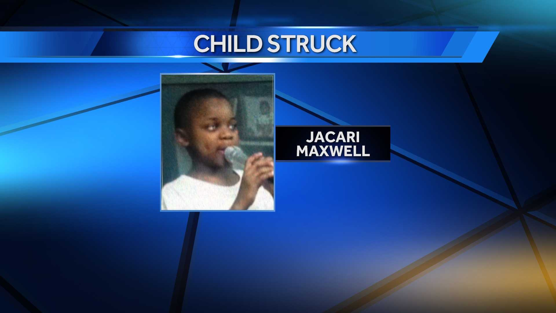 8-year-old struck, killed by car