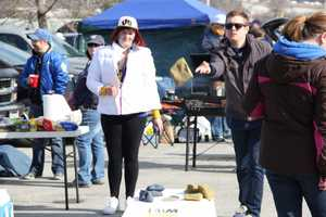 Tailgating is always a big part of the festivities at the ballpark.