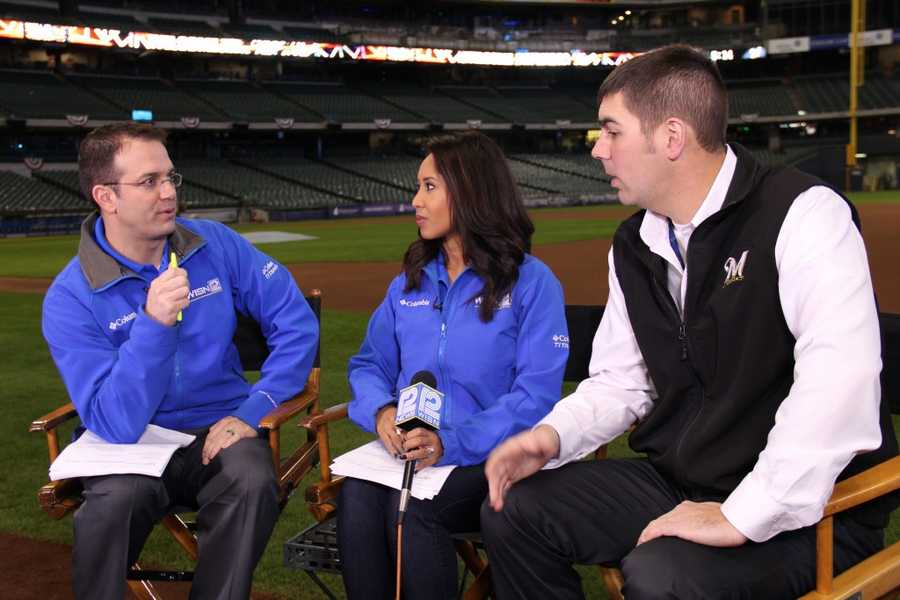 The head groundskeeper joins 12 News to talk about field conditions.