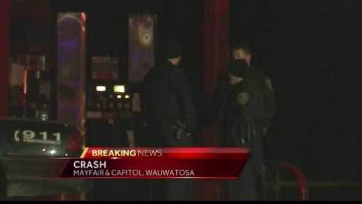Tosa crash scene