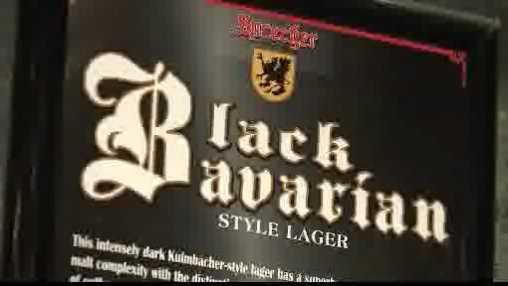 Black Bavarian beer