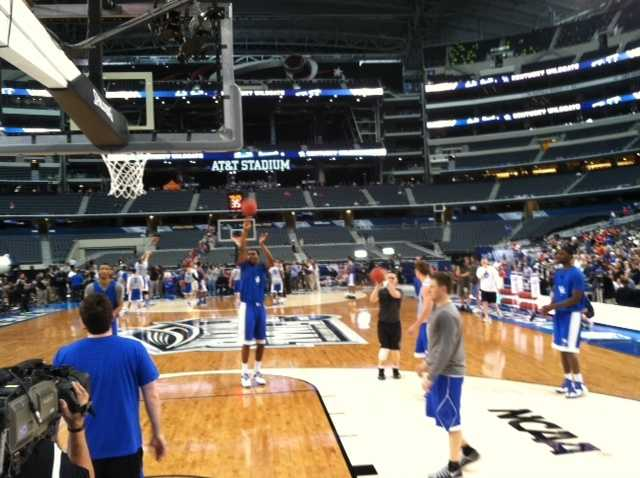 Kentucky Wildcats practice