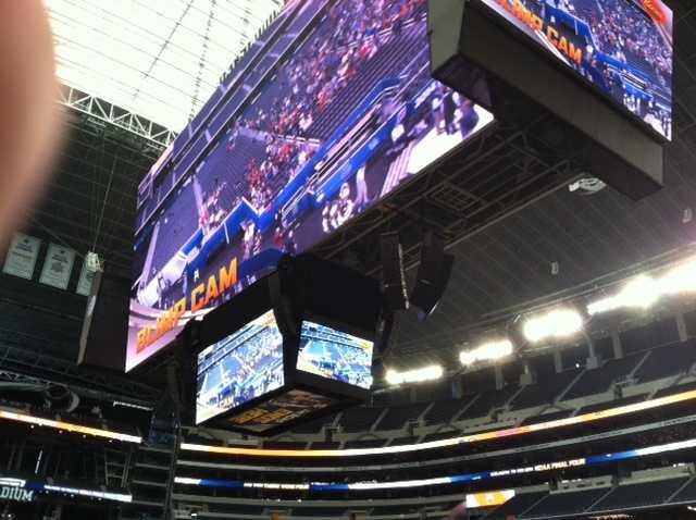 AT&T scoreboard