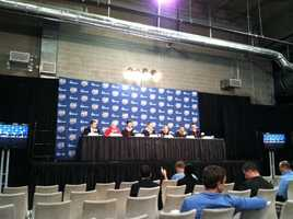 Wisconsin Badgers news conference