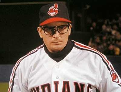"Charlie Sheen's character was pitcher Ricky ""Wild Thing"" Vaughn"