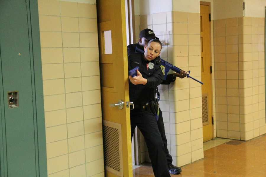 Most of the 1800 members of the Milwaukee Police Department will take part in these joint training exercises.
