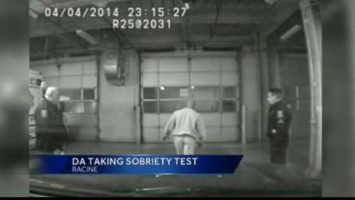 DA sobriety test