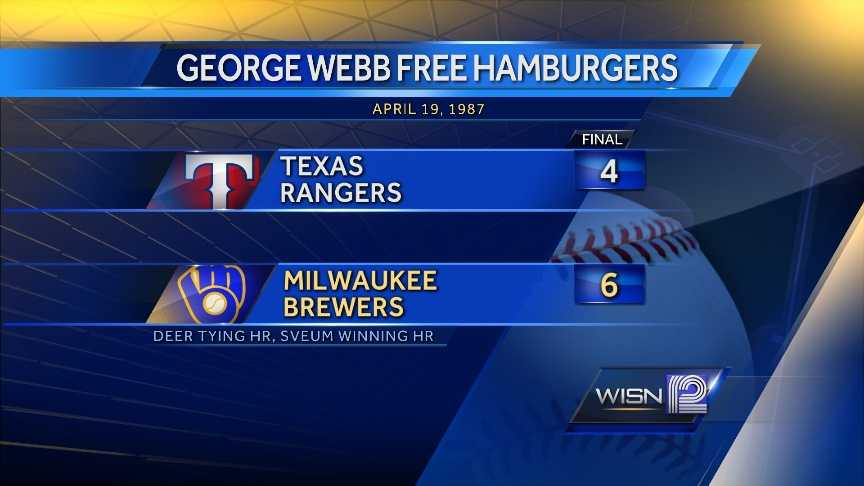 The Brewers came from a 4-1 deficit in the 9th inning to win.