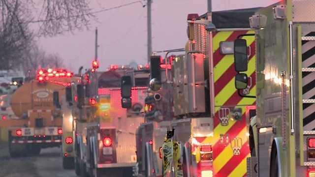 Fire rips through Washington County barn
