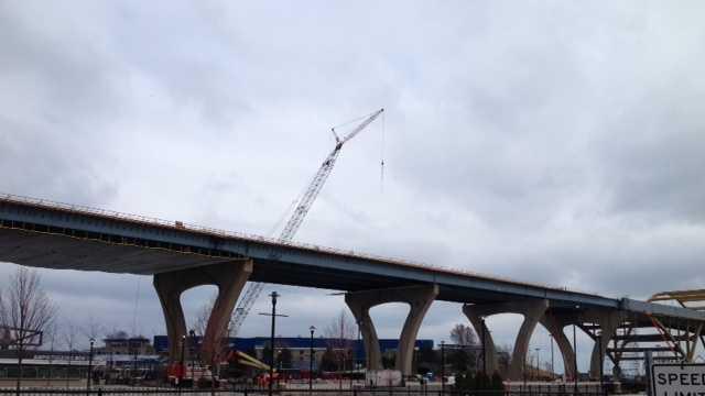 Hoan Bridge work