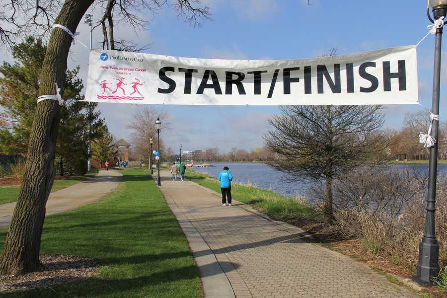 The Waukesha RiverWalk was held at Frame Park.