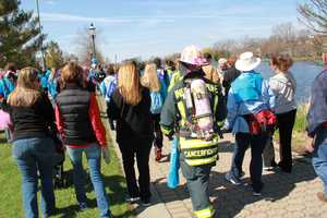 More than 1,000 participated in the RiverWalk.