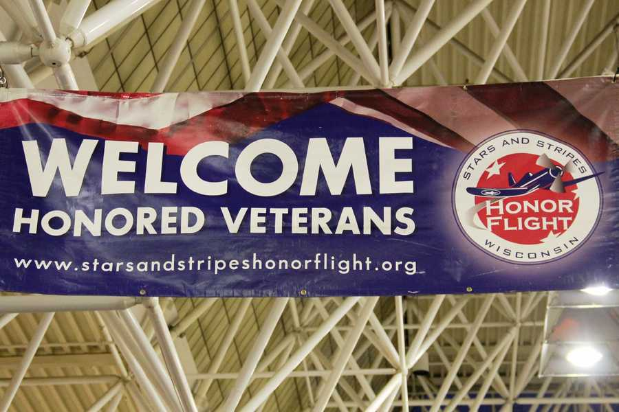 The airport has been a gracious host over the years to help accommodate the thousands of well wishers that flood in for the homecoming.