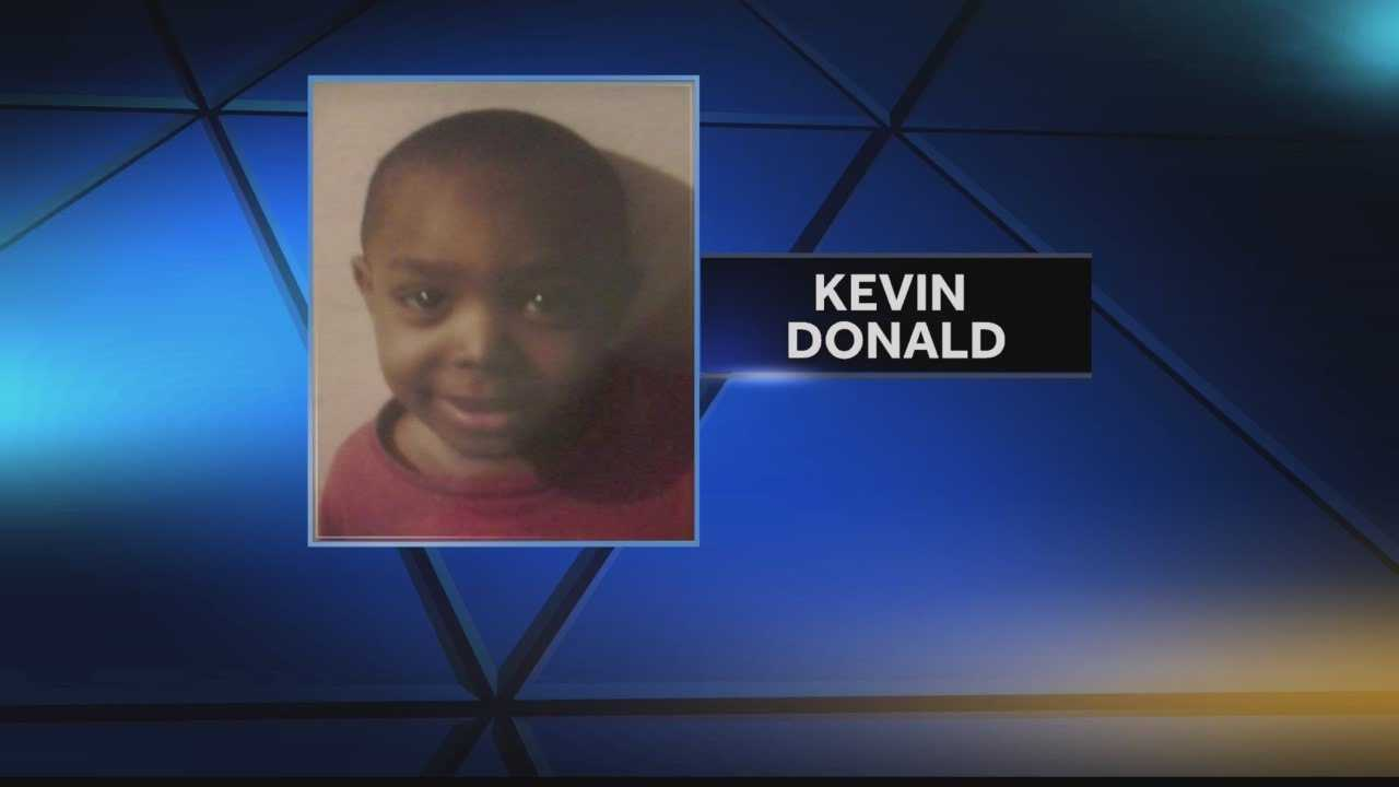 A 3 year old remains in the hospital after he shot himself with a gun found in his Mother's car.