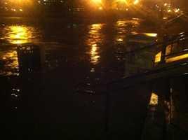 The Fox River in Waukesha