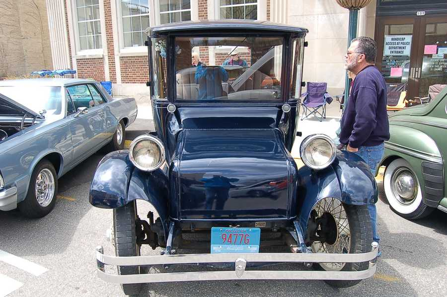 An electric car - from 1929 !