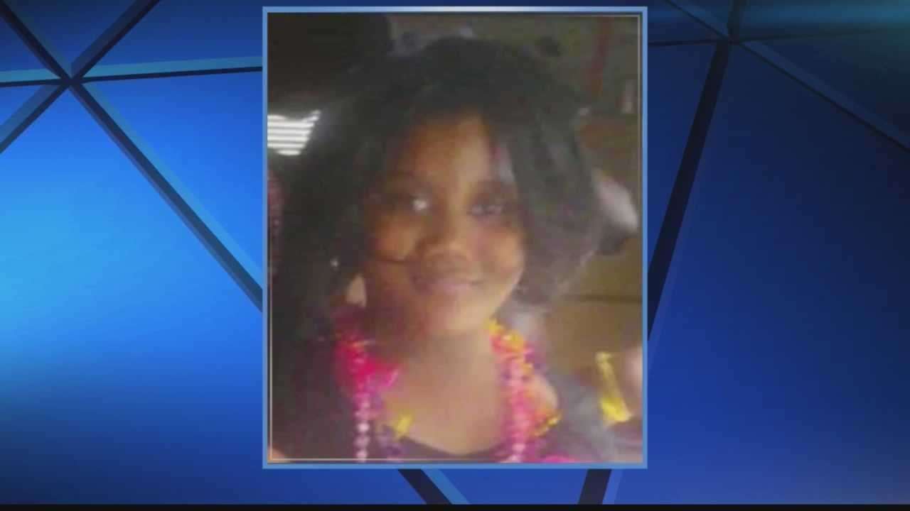 Sierra Guyton died Sunday at Children's Hospital after being shot dead on a playground in May.