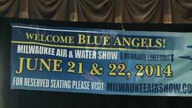 Air and Water Show sign
