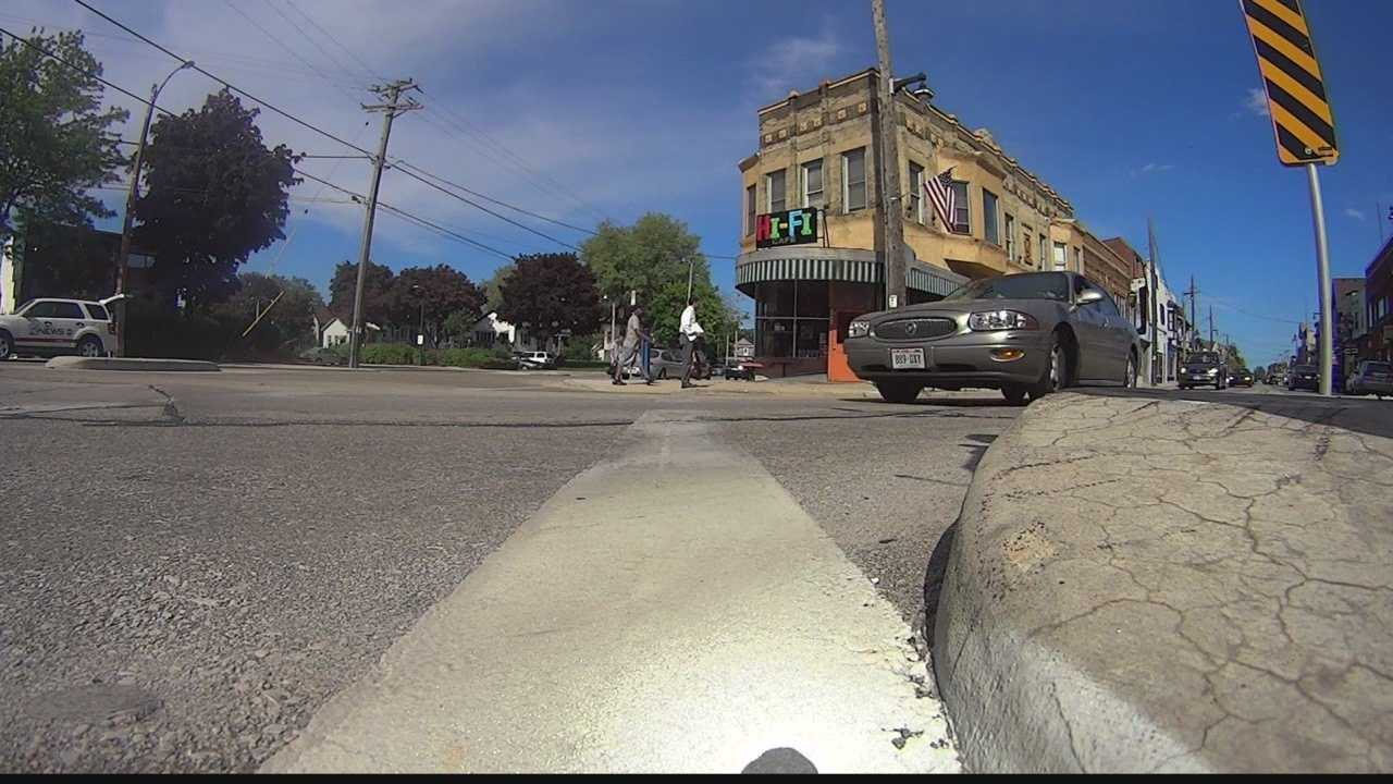 A Milwaukee alderman is is leading a program to raise awareness about pedestrian safety in Bay View.