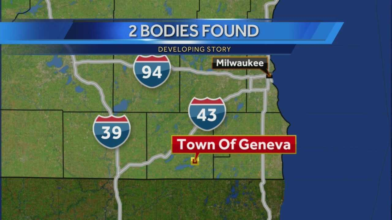 Police are releasing few details about two bodies discovered in the town of Geneva Thursday afternoon