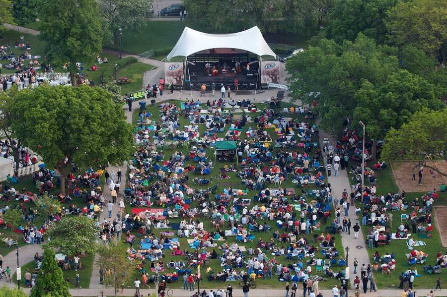 Jazz In The Park, Cathedral Square, MilwaukeeThursdays, June 5 - Sept. 4http://www.easttown.com/events/jazz-in-the-park