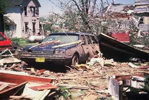 About $25 million worth of damage occurred in Barneveld.