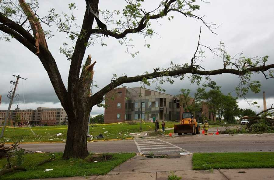 Damage at UW-Platteville