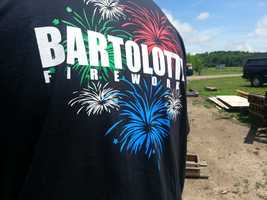 """Ahead of the """"Big Bang"""" fireworks show on June 25, the Bartolottas gave us a sneak peak at one of the surprises in this years show."""