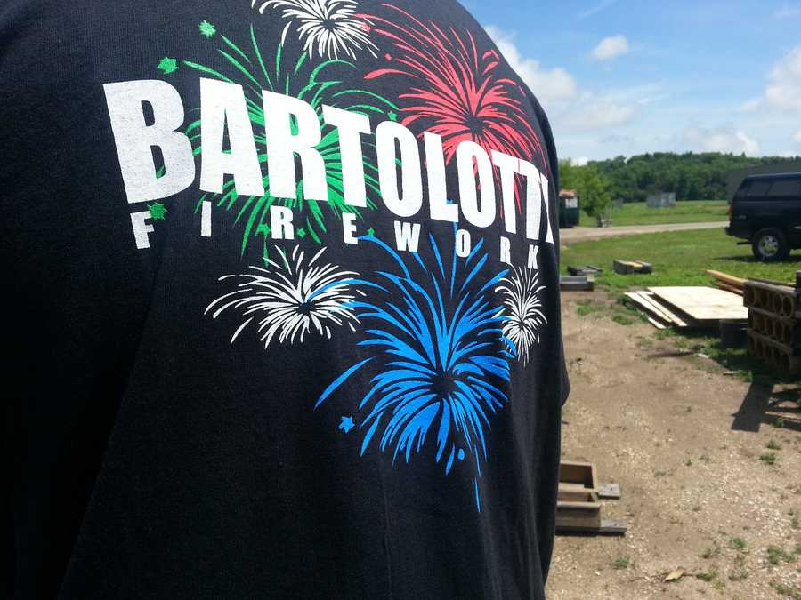 "Ahead of the ""Big Bang"" fireworks show on June 25, the Bartolottas gave us a sneak peak at one of the surprises in this years show."