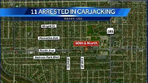 Carjacking map
