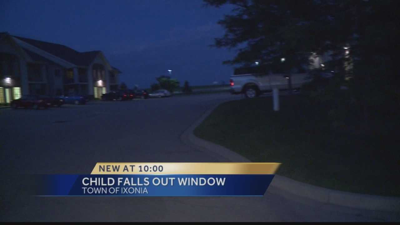 Victim was flown to Children's Hospital in Wauwatosa.