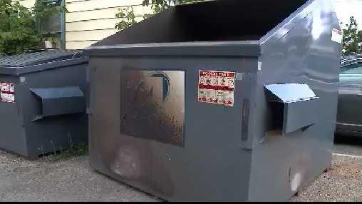 dumpster in Port