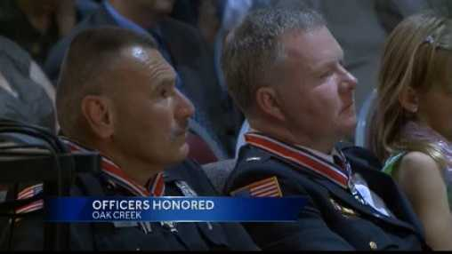 officers honored
