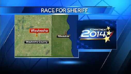Sheriff race graphic