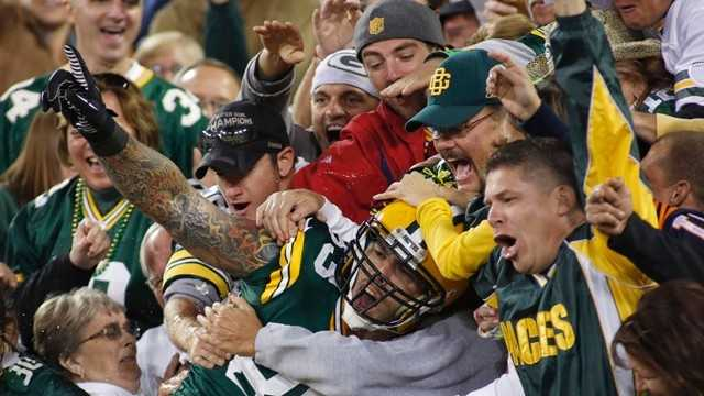 No. 1 -- Green Bay Packers fans!